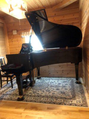 K様邸 ピアノ用床補強工事 グランドピアノ